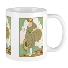 Vintage Ad Illustration Ceramic Coffee Mug