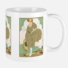 Vintage Ad Illustration Ceramic Coffee Mug