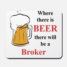 Broker Mousepad