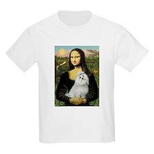 Mona Lisa / Maltese T-Shirt