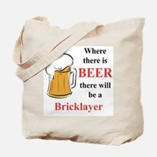 Bricklayer Tote Bag