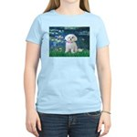 Lilies / Maltese Women's Light T-Shirt