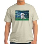Lilies / Maltese Light T-Shirt