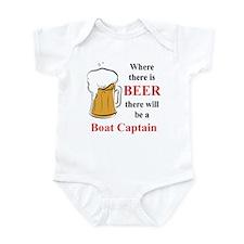 Boat Captain Infant Bodysuit