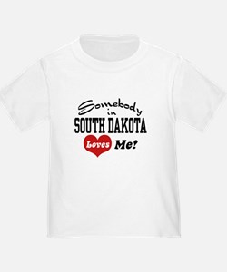 Somebody in South Dakota Loves Me T