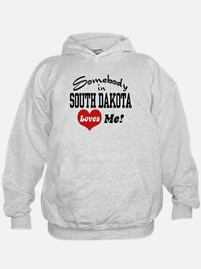 Somebody in South Dakota Loves Me Hoodie