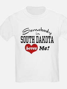 Somebody in South Dakota Loves Me T-Shirt