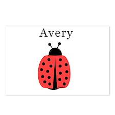 Avery - Ladybug Postcards (Package of 8)