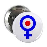 Mod Female Symbol Button