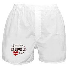Somebody in Nashville Loves Me Boxer Shorts