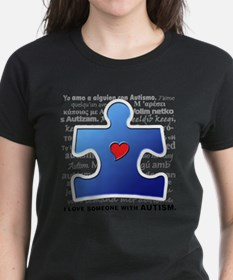 I Luv Someone w/ Autism () T-Shirt