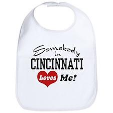 Somebody in Cincinnati Loves Me Bib