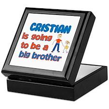 Cristian - Going to be Big Br Keepsake Box