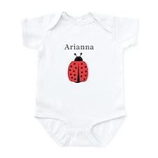Arianna - Ladybug Infant Bodysuit