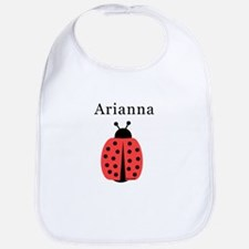 Arianna - Ladybug Bib