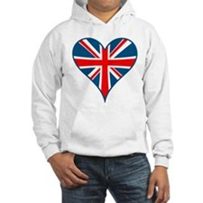 Union Jack Heart Jumper Hoody