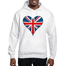Union Jack Heart Jumper Hoody