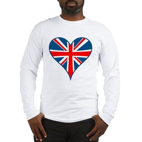Union Jack Heart Long Sleeve T-Shirt