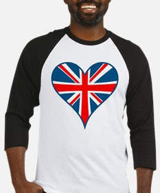 Union Jack Heart Baseball Jersey