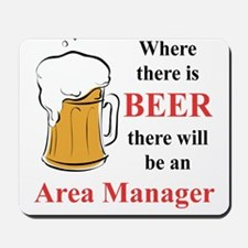 Area Manager Mousepad