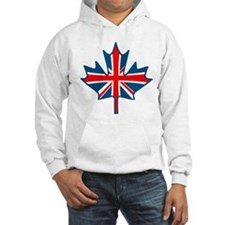 Union Jack Maple Leaf Jumper Hoody