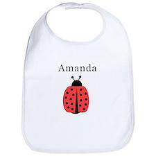 Amanda - Ladybug Bib