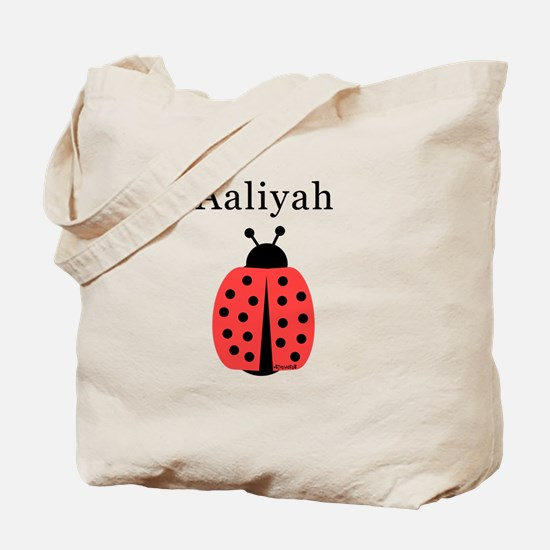 Aaliyah - Ladybug Tote Bag