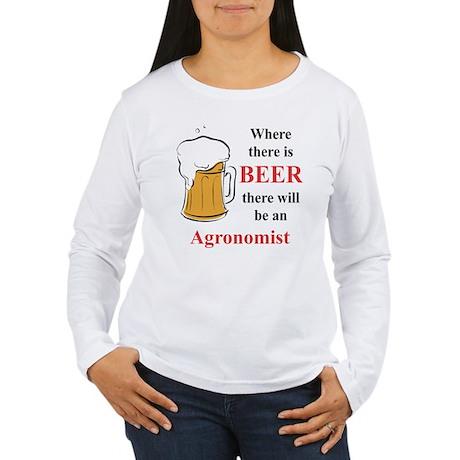 Agronomist Women's Long Sleeve T-Shirt