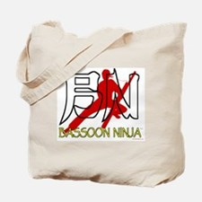 Bassoon Ninja Tote Bag