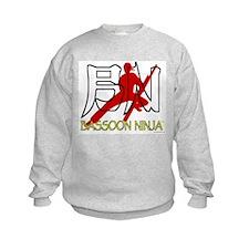 Bassoon Ninja Sweatshirt