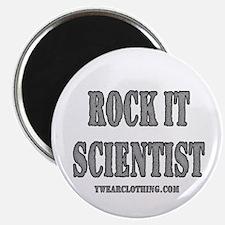 Rock It Scientist Magnet
