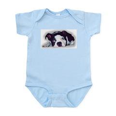 BOSTON TERRIER SWEET DOG Infant Creeper