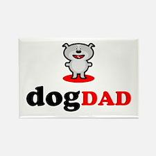 Dog Dad Rectangle Magnet (100 pack)