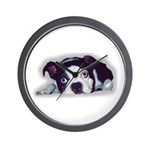 BOSTON TERRIER SWEET DOG Wall Clock