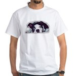 BOSTON TERRIER SWEET DOG White T-Shirt