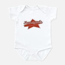 Baseball Samoyed Baby Bodysuit