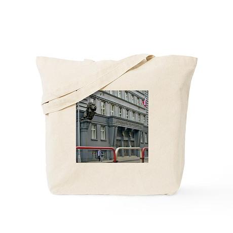 Russian KGB building Tote Bag