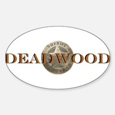 Sheriff of Deadwood Oval Decal