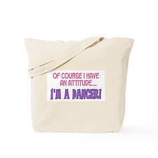 Cute Dancer Tote Bag