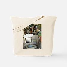 New England Garden Shack Tote Bag