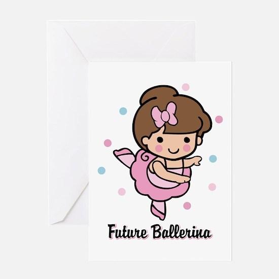 Future Ballerina Greeting Card