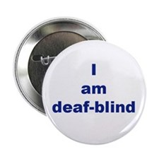 "Funny Deaf 2.25"" Button"