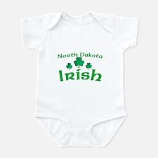 North Dakota Irish Shamrocks Infant Bodysuit