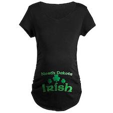 North Dakota Irish Shamrocks T-Shirt