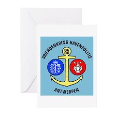 Antwerpen Politie Greeting Cards (Pk of 20)