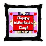 Happy Valentine's Day! Throw Pillow