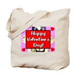Happy Valentine's Day! Tote Bag