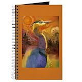 Blue heron Journals & Spiral Notebooks