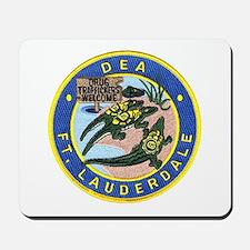 D.E.A. Ft. Lauderdale Mousepad