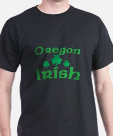 Oregon Irish Shamrocks T-Shirt